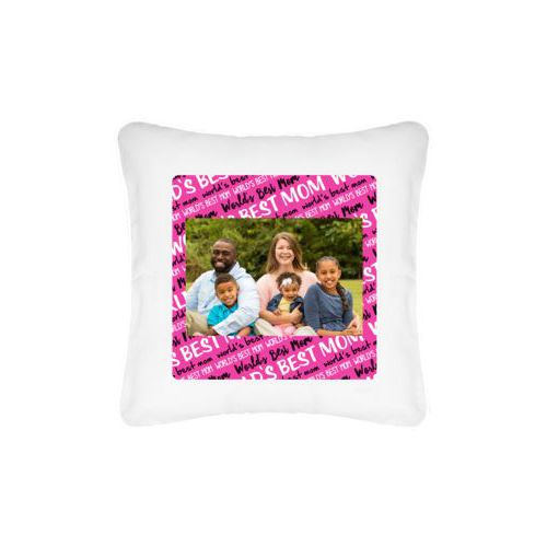 Personalized pillow personalized with photo