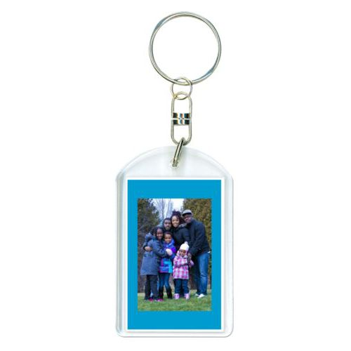 Personalized keychain personalized with photo