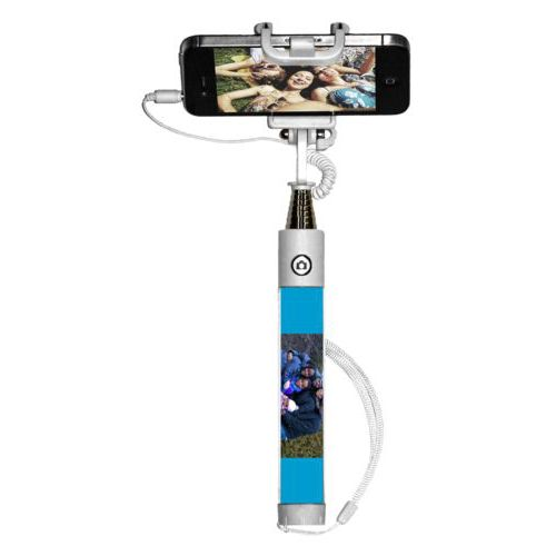 Personalized selfie stick personalized with photo