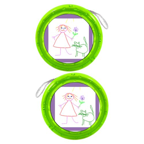 Personalized yoyo personalized with photo