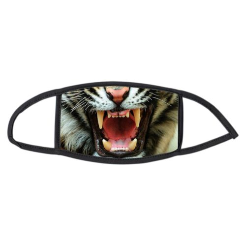 Custom large face masks personalized with Tiger face