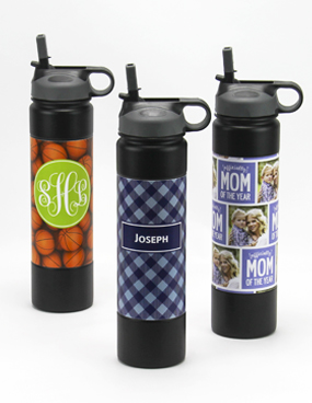 Personalized Insulated Steel Sports Bottles