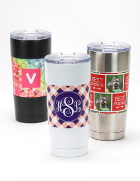 Personalized Insulated Steel Mugs